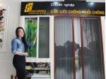 Cửa lưới chống muỗi tại quận Bình Thạnh