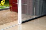 Cửa lưới chống muỗi xếp không ray, cửa lưới chống muỗi