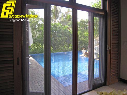 Cửa lưới chống muỗi Bà Rịa - Vũng Tàu, cửa lưới Sài Gòn