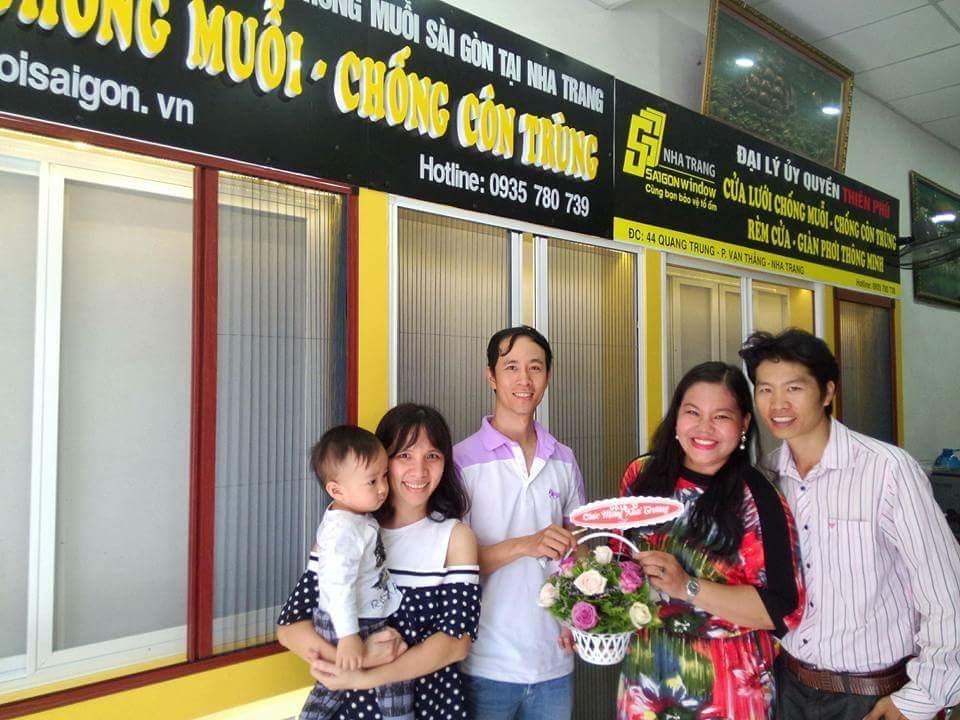 cửa lưới chống muỗi tại Nha Trang