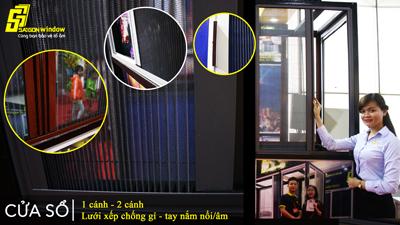 cửa lưới chống muỗi SAIGON WINDOW