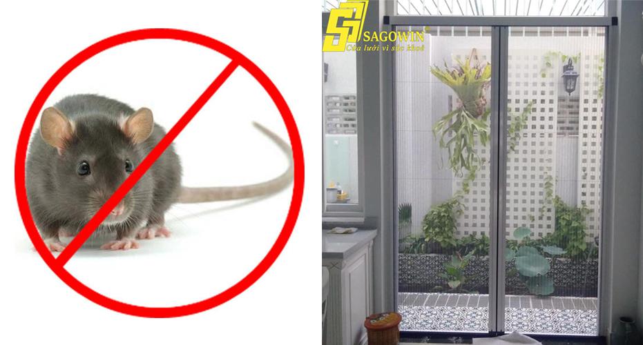 Cửa lưới chống muỗi ngăn chuột