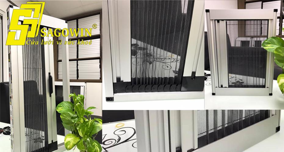 Sản xuất cửa lưới chống muỗi